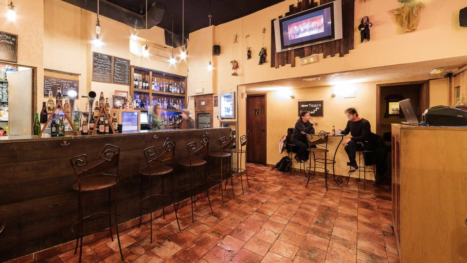 La escalera de jacob caf garito cocteler a sala de for La escalera de jacob