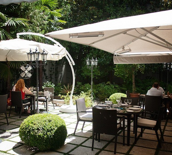 Jard n de recoletos mahoudrid mahou - Restaurante el jardin de recoletos ...