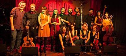 HOLLYWOOD BAND - Bogui Jazz
