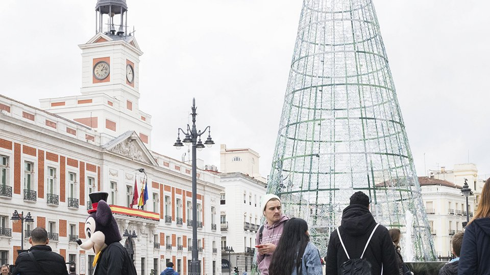 Navidad a un paso de la Puerta del Sol