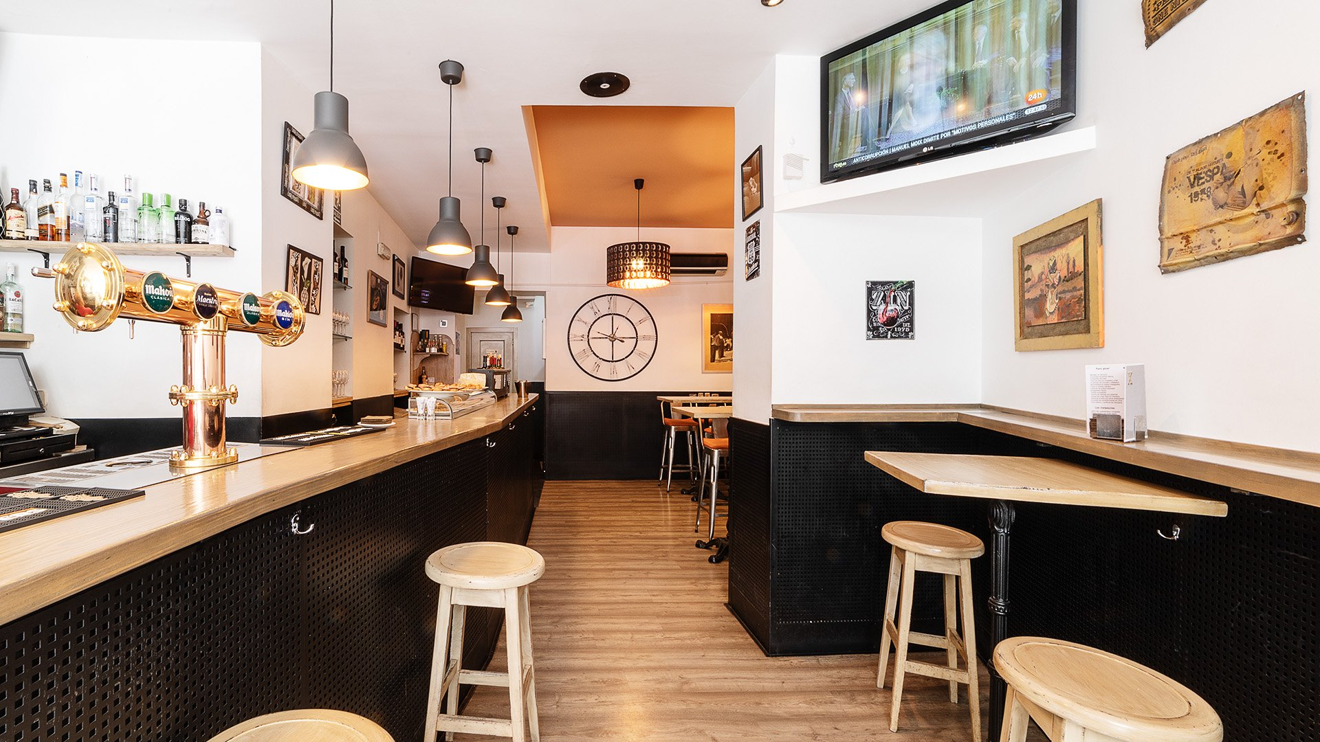 Claxon Bar