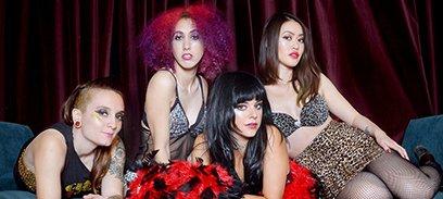 Glam Skanks - Wurlitzer Ballroom